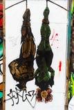 Искусство улицы в Лондоне, Великобритании Стоковая Фотография RF