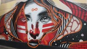 Искусство улицы в Париже Стоковые Фотографии RF