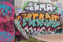 Искусство улицы в районе Красавицы de Mai Стоковое Изображение RF