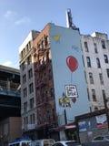 Искусство улицы в Чайна-тауне Нью-Йорке Стоковые Изображения