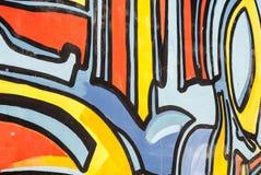 Искусство улицы - граффити Стоковые Изображения RF