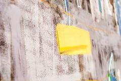 Искусство улицы - граффити Стоковые Фото