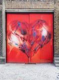 Искусство улицы Лондона Стоковое фото RF