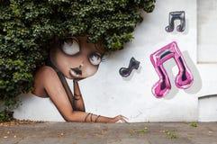 Искусство улицы Лондона Стоковые Изображения RF