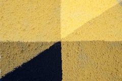 Искусство улицы - минимализм Стоковое фото RF