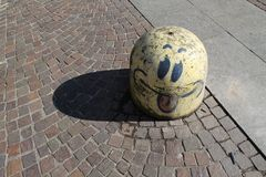 Искусство улицы Милана Стоковая Фотография RF