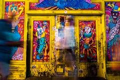 Искусство улицы Нового Орлеана Стоковые Изображения RF