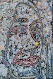 Искусство улицы стороны мозаики Стоковое Фото
