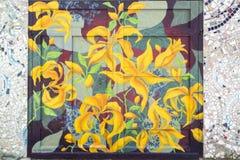 Искусство улицы, Филадельфия, Пенсильвания Стоковое Изображение RF