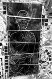 Искусство улицы, южная улица, Филадельфия, Пенсильвания Стоковые Изображения RF