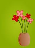 искусство флористическое Стоковое Изображение