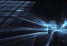 Искусство фрактали - изображение компьютера, технологическая предпосылка Стоковые Фотографии RF