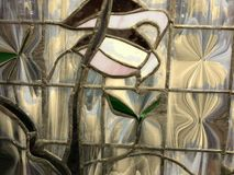 Искусство цветного стекла Стоковые Фото