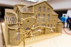 Искусство церков пшеницы модельное Стоковые Фотографии RF