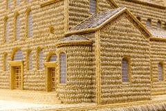 Искусство церков пшеницы модельное Стоковое Изображение RF