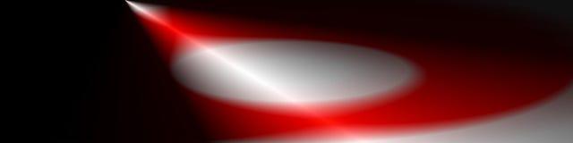 Искусство цифров, абстрактные трехмерные объекты с мягким освещением Стоковое Фото