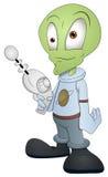 Характер чужеземца шаржа - иллюстрация вектора Стоковая Фотография RF