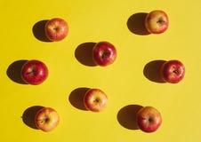 Искусство шипучки Яблока Стоковое Изображение