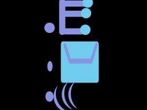 Искусство электронной почты Стоковая Фотография RF