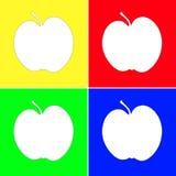 искусство яблок Стоковая Фотография