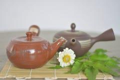 Искусство японской посуды Стоковое Изображение RF
