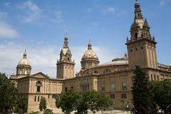 искусство barcelona de музей Стоковое Изображение