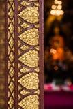 Искусство goden лист 2 стоковые фото