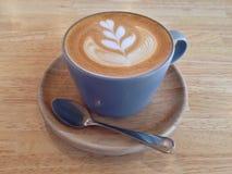 Искусство latte кофе Стоковые Фото