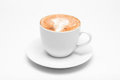 Искусство Latte, кофе Стоковое фото RF
