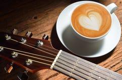 Искусство Latte Стоковое Изображение