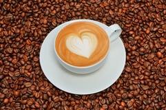 Искусство Latte Стоковые Изображения