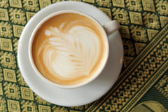 Искусство Latte Стоковое Изображение RF
