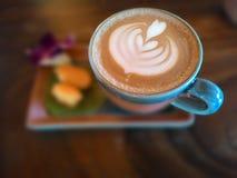 Искусство Latte Mocha Стоковое Изображение RF