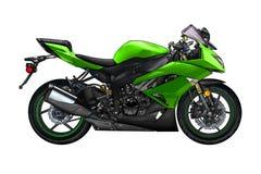 Искусство llustration мотоцикла изолированное цветом иллюстрация штока