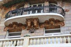 Искусство Nouveau в Париже Стоковое Фото