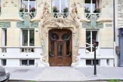 Искусство Nouveau в Париже Стоковая Фотография RF