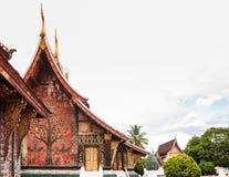 Искусство TMural ремня Wat Xieng, Luang Prabang, Лаоса Стоковое Изображение RF