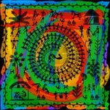 Искусство Warli племенное Стоковые Фото