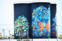 Искусство Wonderfull городское Стоковые Фотографии RF