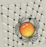 Искусство Zentangle Стоковое Фото