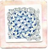 Искусство Zentangle Стоковое фото RF