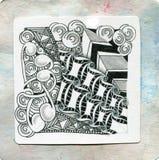 Искусство Zentangle Стоковые Изображения