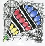 Искусство Zentangle Стоковая Фотография