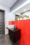 Исключительная ванная комната стоковые изображения rf