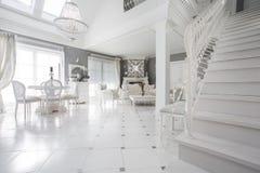 Исключительная живущая комната Стоковое Изображение