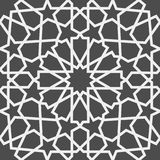 исламская картина Безшовная арабская геометрическая картина, восточный орнамент, индийский орнамент, персидский мотив, 3D Бесконе Стоковое фото RF