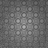 исламская металлическая картина мотива Стоковое Изображение RF