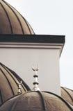 Исламская мечеть. Вероисповедное зодчество Стоковые Изображения RF