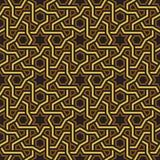 Исламские обои картины звезды, золотых & черных бесплатная иллюстрация
