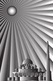 исламский вектор мечети Стоковое фото RF